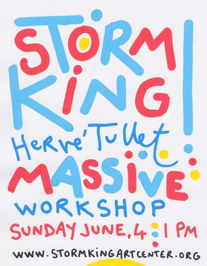 Hervé Tullet - Storm King ! - Massive Workshop
